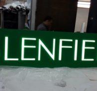 буквы glenfield