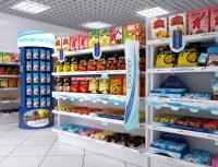 шелфтокеры в супермаркете